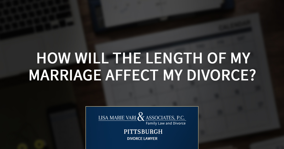 How Will the Length of My Marriage Affect My Divorce?