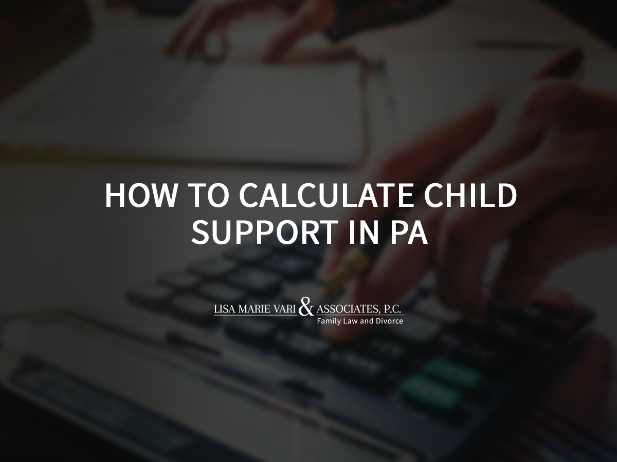 How to Calculate Child Support in PA